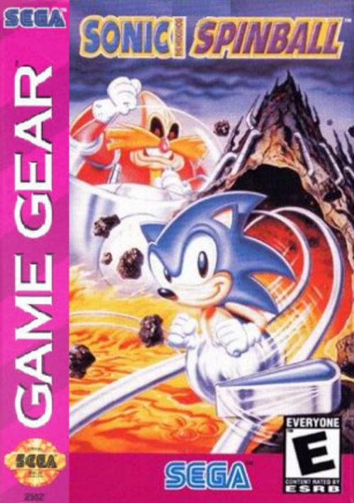 sonic spinball game gear rom