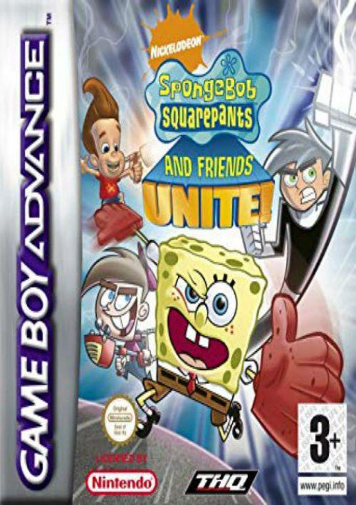 spongebob gba video