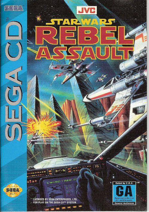 Star Wars - Rebel Assault (U) ROM Download for Sega CD