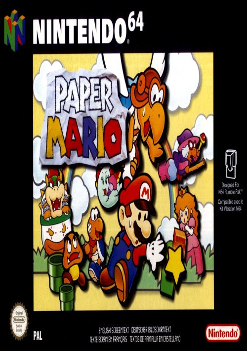 Super Mario 64 (Europe) ROM Download for N64 | Gamulator