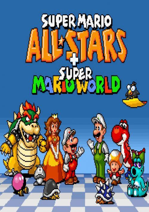 Super Mario All-Stars + Super Mario World ROM Download for