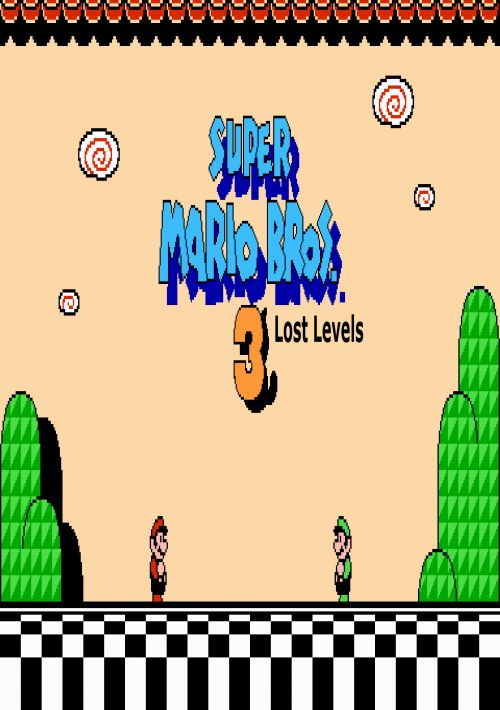 Zzz Unk Super Mario Bros 3 Lost Levels Rom Download For Snes