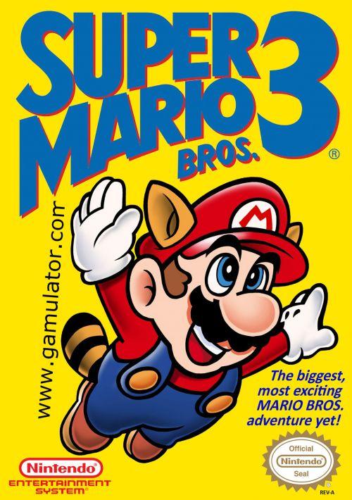 Super Mario Bros  3 (EU) ROM Download for NES | Gamulator