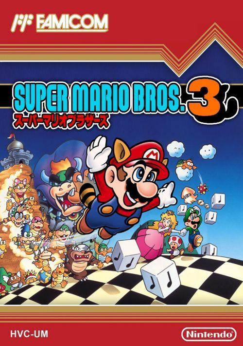 Super Mario Bros 3 (J) ROM Download for NES   Gamulator