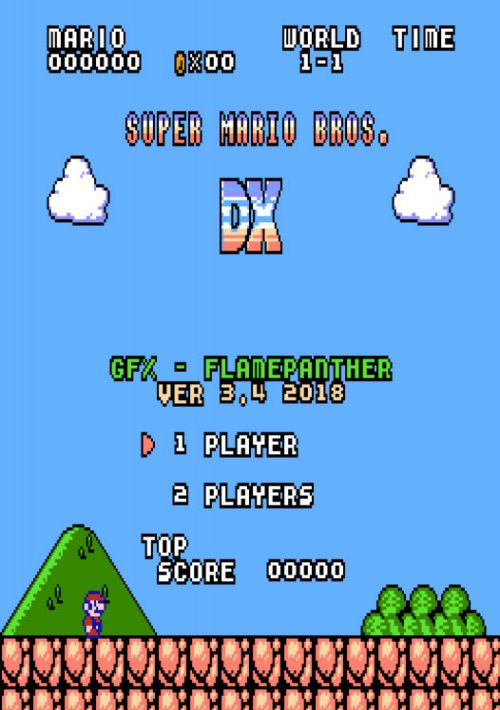 Super Mario Bros DX (SMB1 Hack) ROM Download for NES | Gamulator