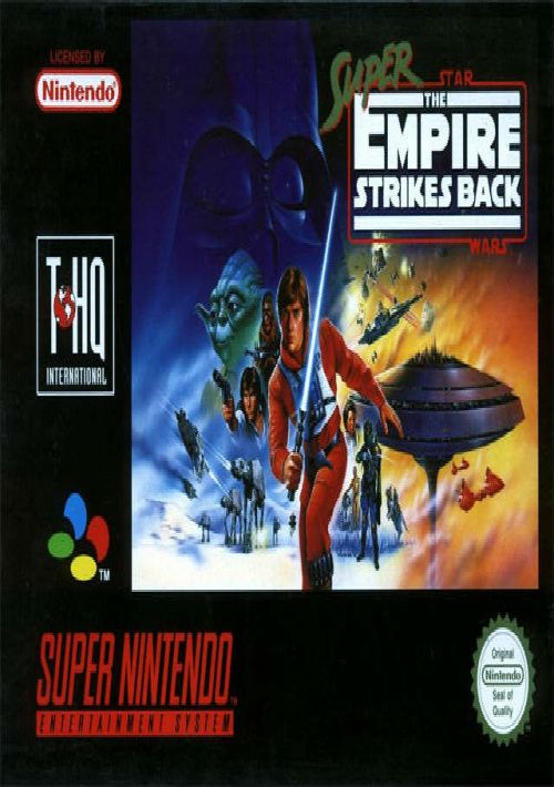 super star wars empire strikes back snes download roms