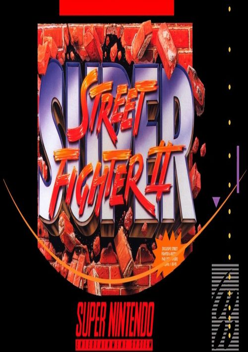 Super Street Fighter 2 - The New Challengers (EU) ROM