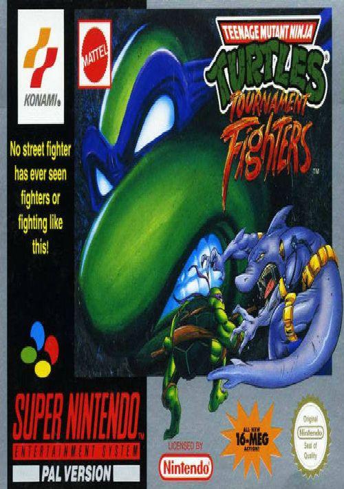 teenage mutant ninja turtles tournament fighters rom