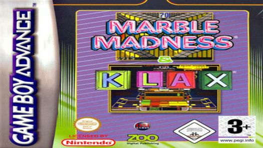 2 In 1 - Marble Madness & Klax (sUppLeX)