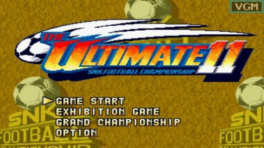 The Ultimate 11 - The SNK Football Championship / Tokuten Ou - Honoo no Libero