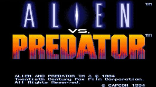 Alien vs Predator (Europe) (Clone)