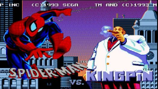 Amazing Spider-Man Vs The Kingpin, The (U)