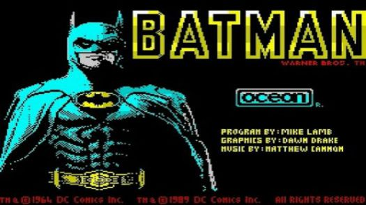 Batman - The Movie (1989)(Ocean Software)(128k)