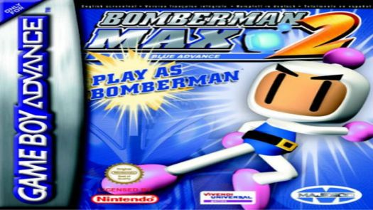 Bomber-Man Max 2 Blue