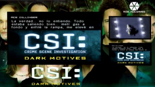 CSI - Dark Motives (E)(EXiMiUS)