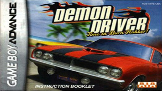 Demon Driver - Time To Burn Rubber