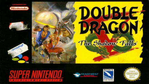 Double Dragon V - The Shadow Falls (EU)