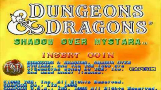 Dungeons & Dragons - Shaadow Over Mystara (USA) (Clone)