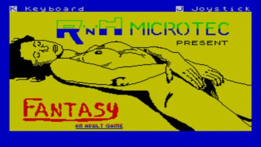 Fantasy - An Adult Game (1987)(R 'n' H Microtec)