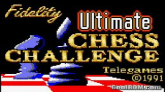 Fidelity Ultimate Chess Challenge, The