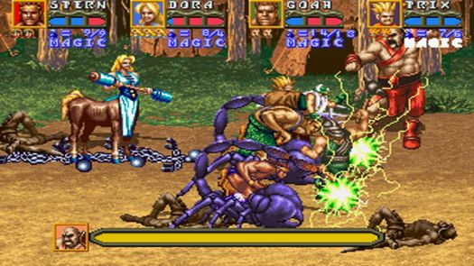 Golden Axe The Revenge of Death Adder