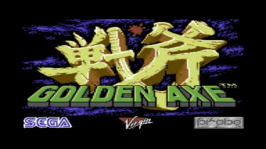 Golden Axe (E)