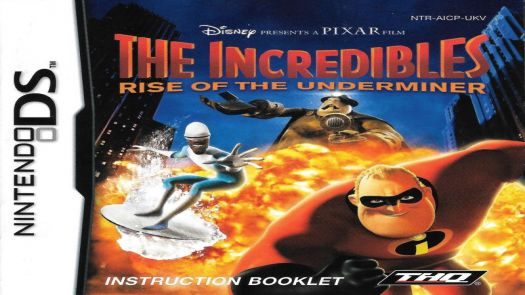 Incredibles - Rise Of The Underminer, The (EU)
