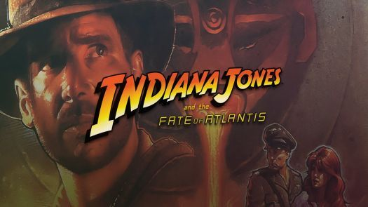 Indiana Jones and the Fate of Atlantis (CD DOS, German) Game