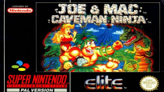 Joe And Mac - Caveman Ninja (E)