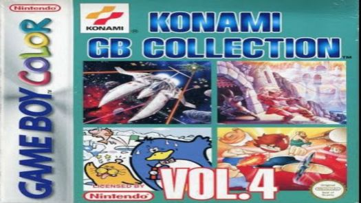 Konami GB Collection Vol.4 (E)