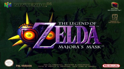 Legend of Zelda, The - Majora's Mask (Europe)