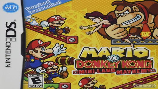 Mario Vs. Donkey Kong - Mini-Land Mayhem (EU)