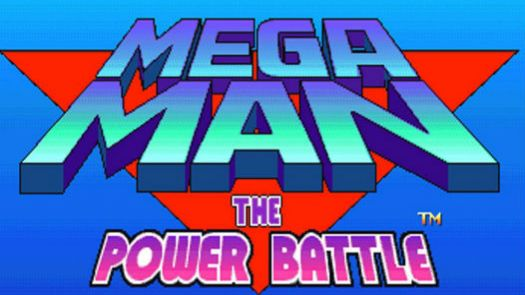 MEGA MAN - THE POWER BATTLE [USA]