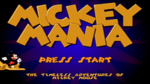Mickey Mania - The Timeless Adventures Of Mickey Mouse (U)