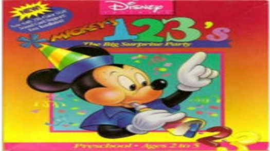 Mickey's 123's - The Big Surprise Party_Disk1