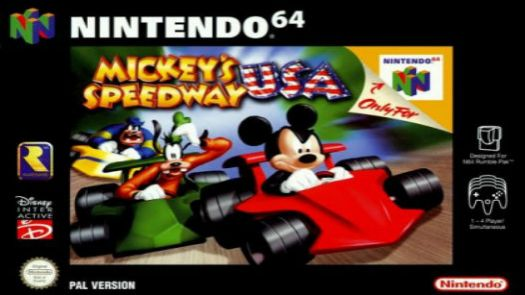 Mickey's Speedway USA (Europe)