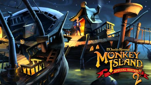 Monkey Island 2 LeChuck's Revenge (DOS, German) Game