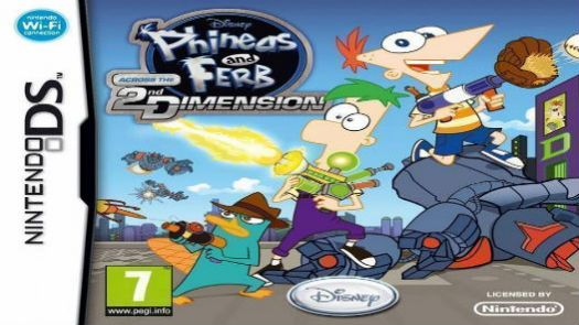 Phineas And Ferb - Across The 2nd Dimension (E)