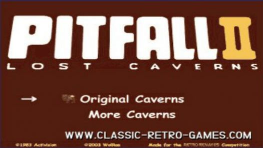 Pitfall II - Lost Caverns (E)
