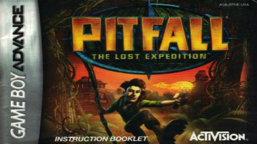 Pitfall - The Lost Expedition (Menace) (E)