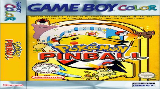 Pokemon Pinball (EU)