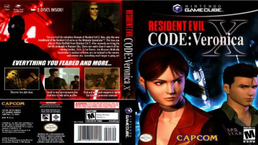 Resident Evil Code Veronica X - Disc #2