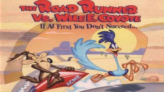 Road Runner VS Wyle E Coyote (J)