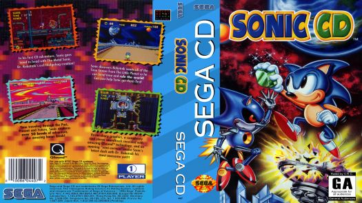 sonic the hedgehog cd rom