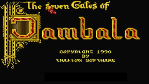 Seven Gates Of Jambala, The (Europe)