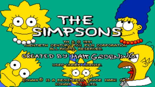 Simpsons Arcade Game The