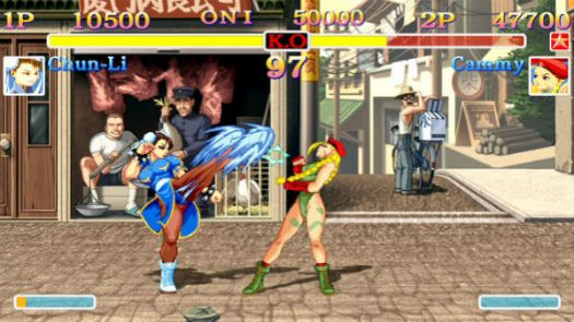 Street Fighter II Turbo - Hyper Fighting (Japan) (Clone)