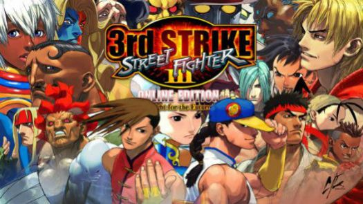 Street Fighter III 3rd Strike Fight For The Future (J)