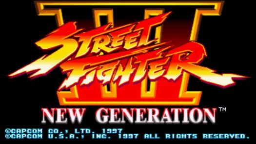 Street Fighter III - New Generation (JP)