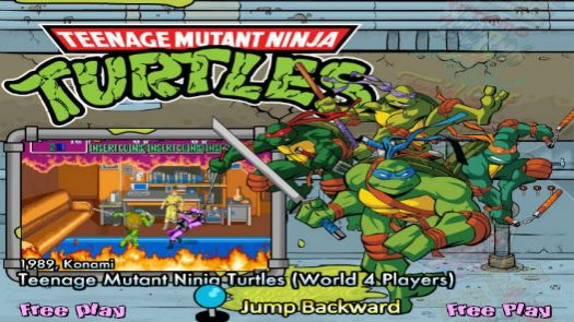 Teenage Mutant Ninja Turtles (J)